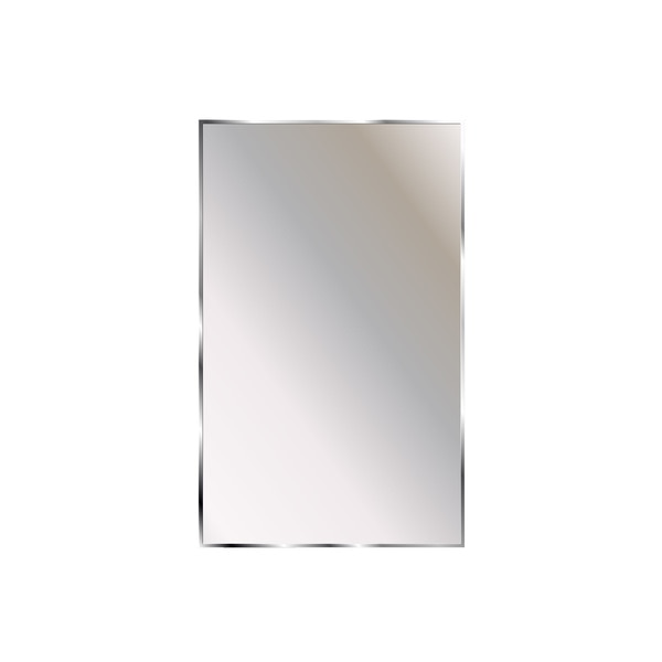 """Ketcham 18"""" x 24 1/4"""" Surface Mounted Theft Proof Acrylic Mirror TPMA-1824"""