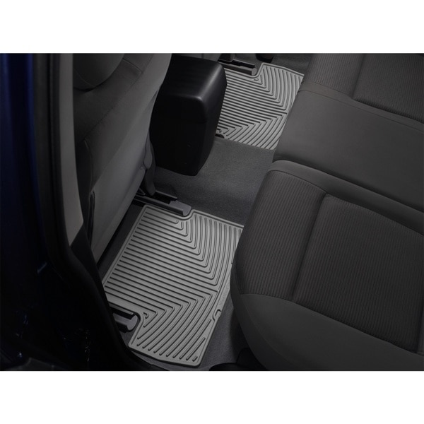 Weathertech Rear Rubber Mats/Grey, W159GR W159GR