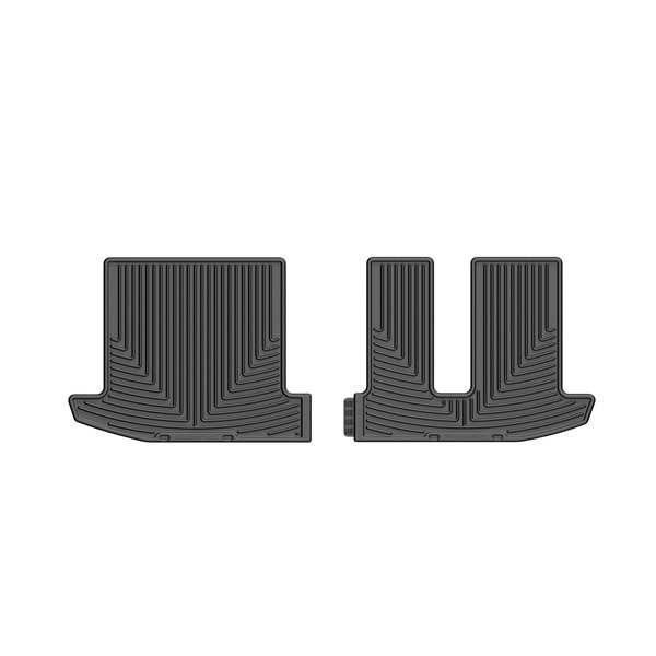 Weathertech Rear Rubber Mats/Black, W304 W304