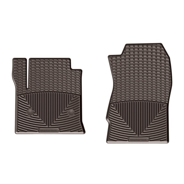 Weathertech Front Rubber Mats/Cocoa, W309CO W309CO
