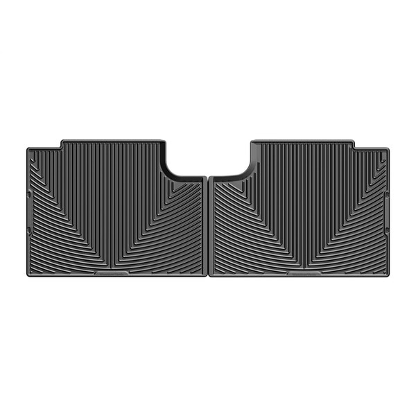 Weathertech Rear Rubber Mats/Black, W358 W358
