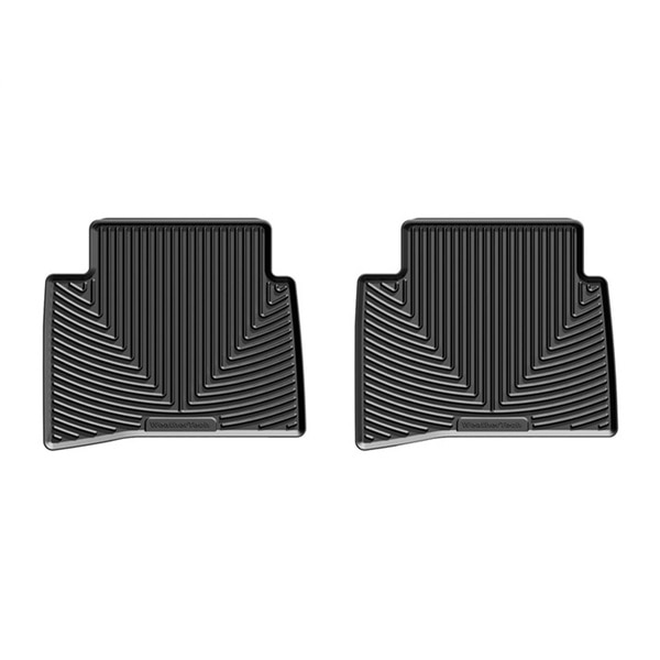 Weathertech Rear Rubber Mats/Black, W401 W401