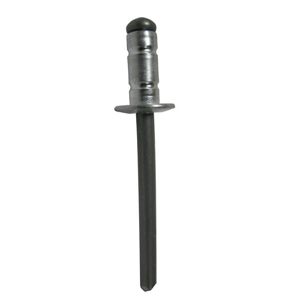 Pop Alum. Multi-Grip Blnd Rivet w/StlMandrel Dome Hd 1/8 X .039-.189 Grip AD41-43BS