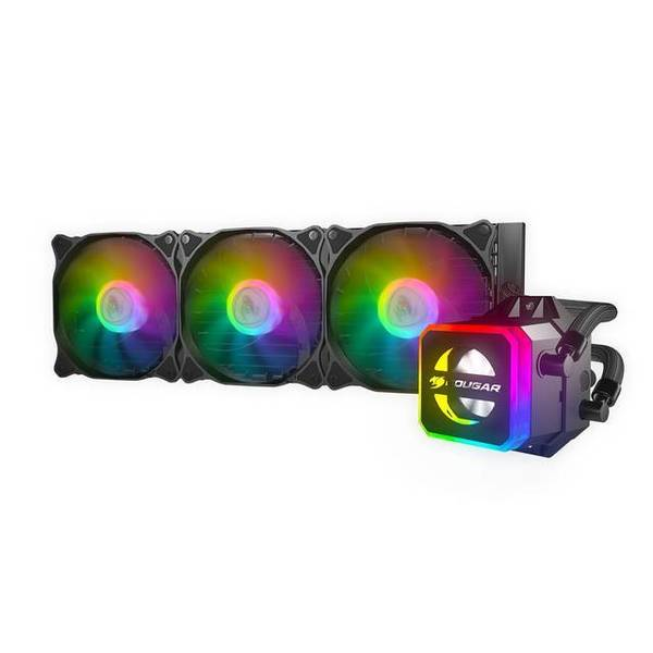 Cougar Helor 360 RGB CPU Aluminum Cooling Kit w/ 3 Fans 360mm HELOR 360