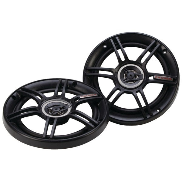 "Crunch CS Series 300W 6.5"" Shallow Mount Coaxial Speakers CS65CXS"