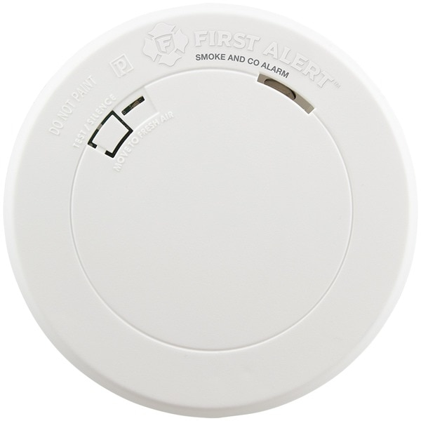 First Alert Battery-Operated Photoelectric Smoke Alarm 1039772