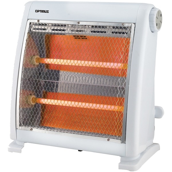 Optimus Ultraquiet Cool-Touch Quartz Radiant Heater H-5511