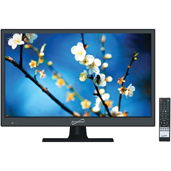 "Supersonic HD-Quality 15.6"" 720p LED TV with Compatible AC/DC for RV/Boat SC-1511"