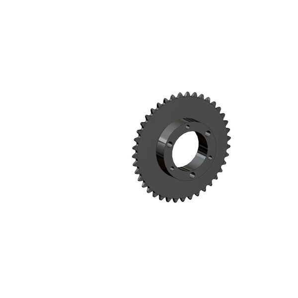 Senqcia Maxco Maxco H35Sh40 Qd Sprocket For Use With Sf Bushing Hardened Tooth H35SH40