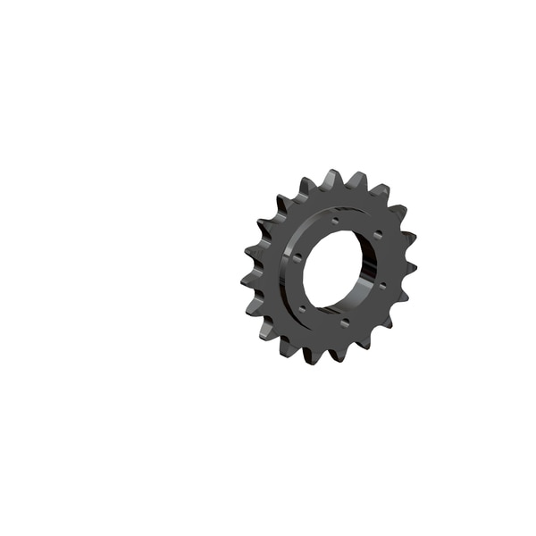 Senqcia Maxco Maxco H60Sds19 Qd Sprocket For Use With Sf Bushing Hardened Tooth H60SDS19