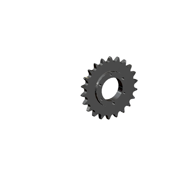 Senqcia Maxco Maxco H60Sds22 Qd Sprocket For Use With Sf Bushing Hardened Tooth H60SDS22