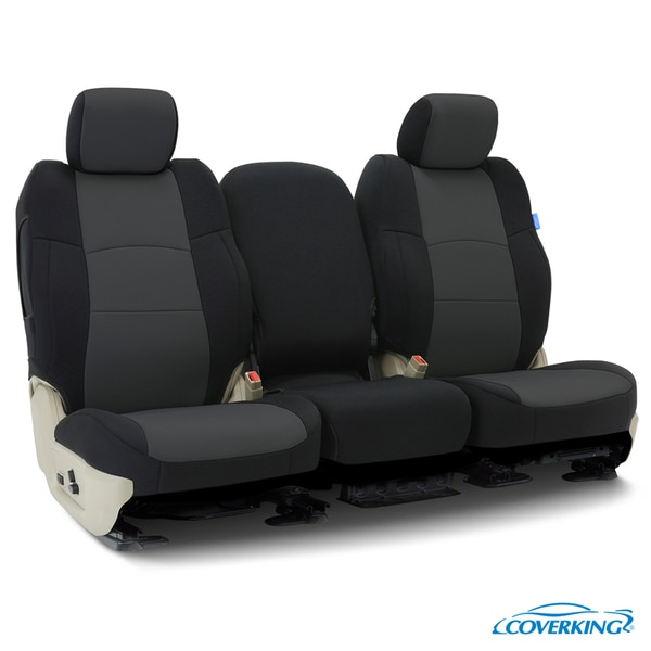 Coverking Seat Covers in Neosupreme for 2010-2013 Chevrolet Truck, CSC2A2-CH9459 CSC2A2-CH9459