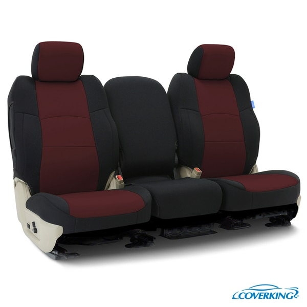 Coverking Seat Covers in Neosupreme for 2012-2012 Honda Civic, CSC2AW-HD9429 CSC2AW-HD9429