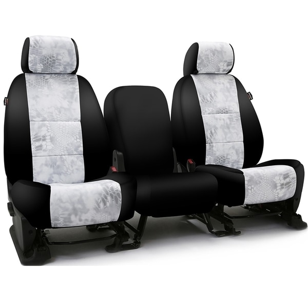 Coverking Seat Covers in Neosupreme for 2015-2015 Nissan Titan, CSC2KT12-NS9925 CSC2KT12-NS9925