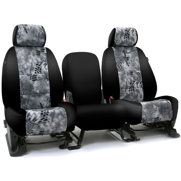 Coverking Seat Covers in Neosupreme for 2005-2008 Toyota Truck, CSC2KT16-TT7418 CSC2KT16-TT7418