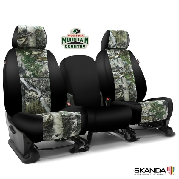 Coverking Seat Covers in Neosupreme for 2009-2010 Mitsubishi, CSC2MO11-MB7135 CSC2MO11-MB7135