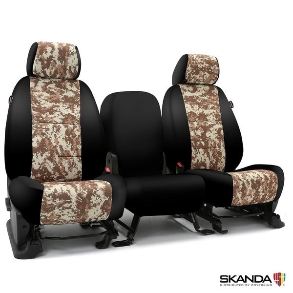 Coverking Seat Covers in Neosupreme for 2015-2021 Ram ProMaster, CSC2PD36-RM1100 CSC2PD36-RM1100
