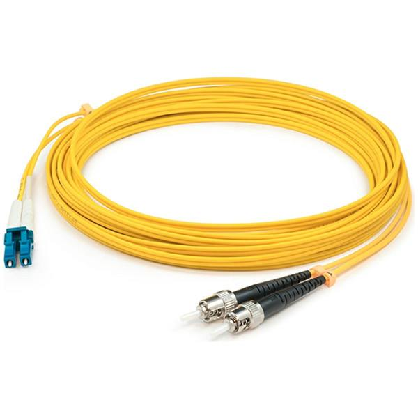 Add-On This Is A 20M Lc (Male) To St (Male) Yellow Duplex Riser-Rated Fiber ADD-ST-LC-20M9SMF