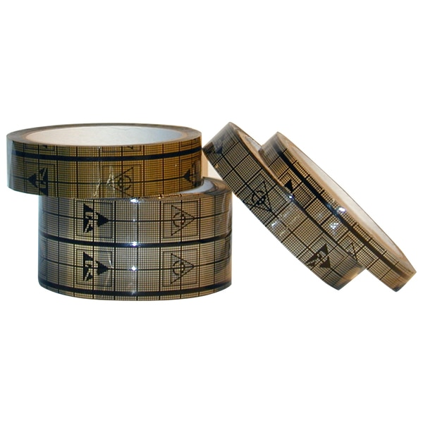 "Transforming Technologies Guardian Grid Tape,  1/2"" x 36 Meters,  3"" Core CT1204"
