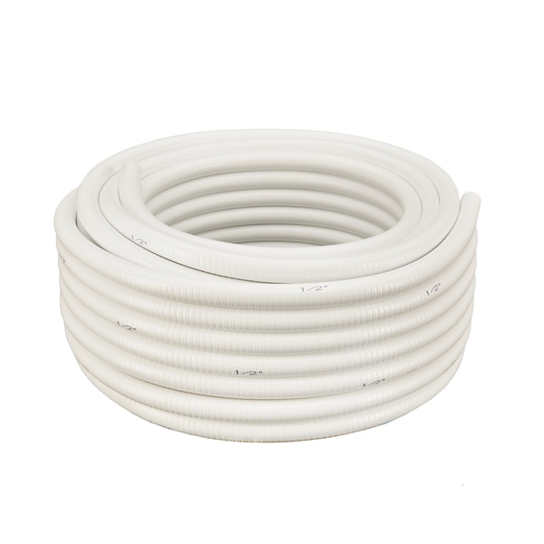 "Hydromaxx 3/4""x50Ft White Flexible PVC Pipe WF034050"