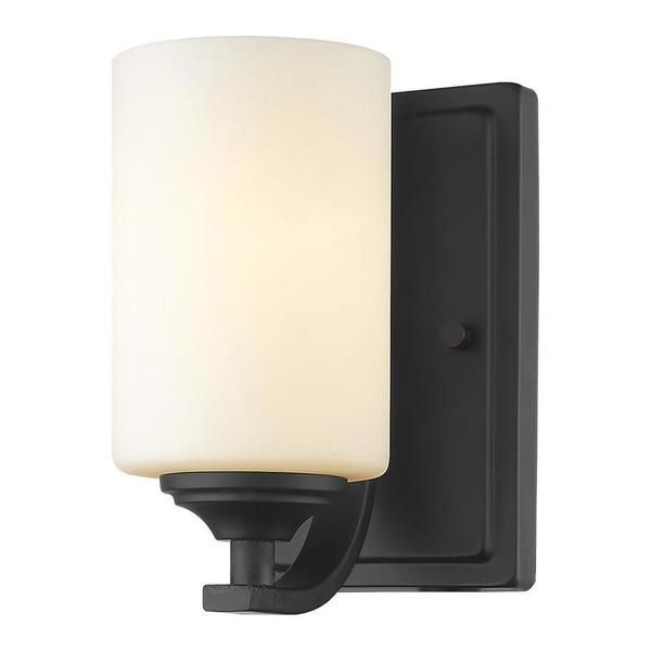 "Z-Lite Bronze Bordeaux Single Light 8-1/2 High Wall Sconce"" 435-1S-BRZ"