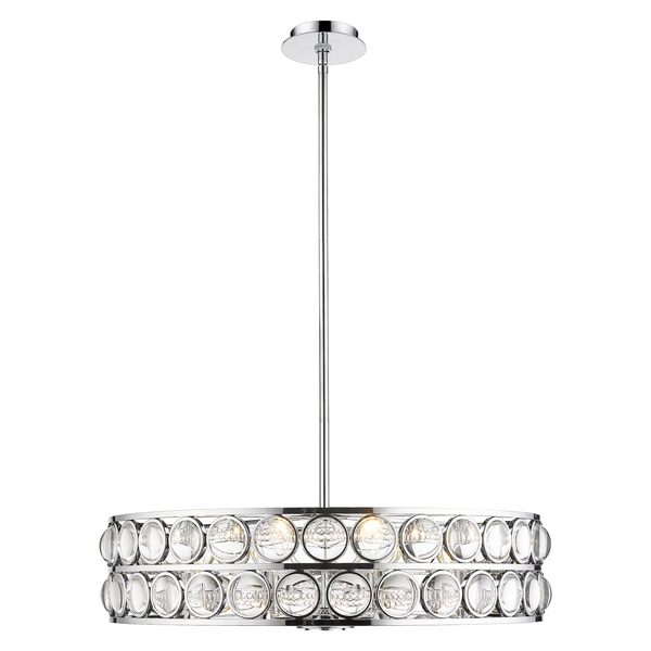 Z-Lite 8 Light Chandelier 4004-30CH