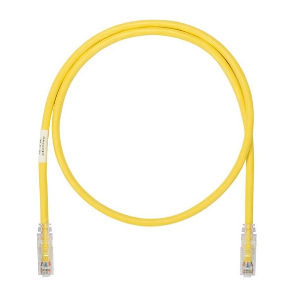 Panduit CAT6A SD PATCHCORD UTP 10GB/S, 4PR RJ45/RJ45 CLEAR BOOT, YELLOW,  115 FT UTP6ASD115YL
