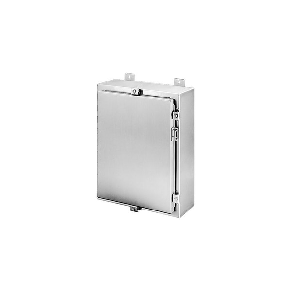 Hoffman Enclosures Inc WALL-MOUNT TYPE 4X ENCLOSURE, 30.00X30.00X8.00,  A30H3008SSLP