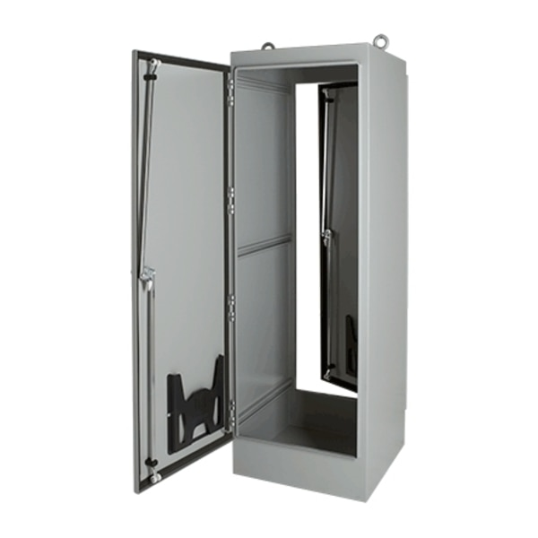 Hoffman Enclosures Inc 1-DOOR FS ENCLOSURE TYPE 12, 90.06X36.06X20.06,  A903620FSG
