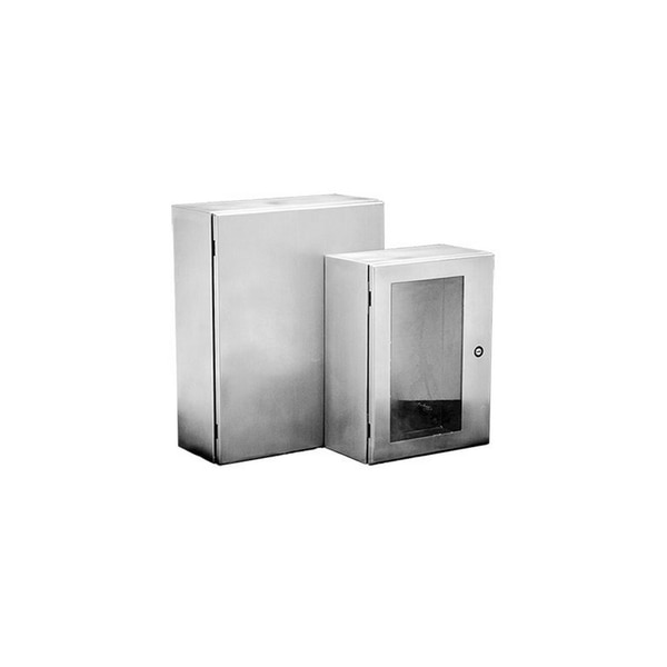 Hoffman Enclosures Inc WALL-MOUNT TYPE 4/12 ENCLOSURE, 20.00X24.00X10.00,  CSD202410SS6