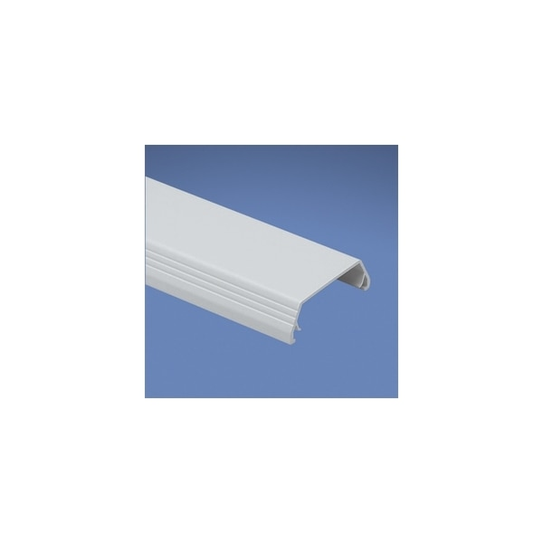 Panduit RACEWAY NONMETALLIC T-45, COVER 2 METER LENGTH, WHITE T45CWH2