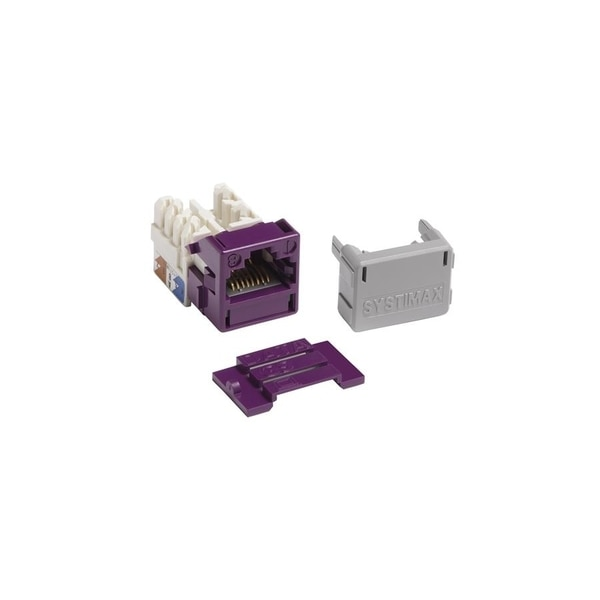 Commscope Systimax Solutions 1-PORT MOD JACK 110 8W8P UTP, T568A/B CAT6 IP5 GIGASPEED MGS400-361