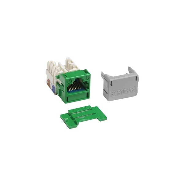 Commscope Systimax Solutions 1-PORT MOD JACK 110 8W8P UTP, T568A/B CAT6A IP10 X10D 360 MGS600-226