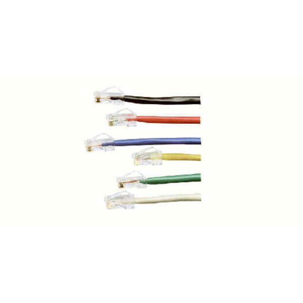 Panduit CBL ASSY MOD 24-4PR STRANDED, CAT5E IP1 T568A/B 1FT, POWERSUM+ GREEN UTPCH1GRY
