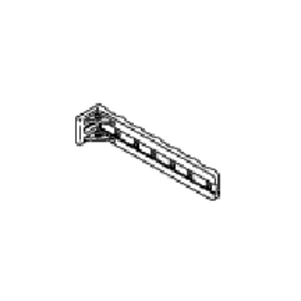 "Chatsworth Products Inc (Cpi) CABLE MGMT BRACKET, 6"" STAND-OFF TIE BRACKET ALUM, CLEAR 10559-500"