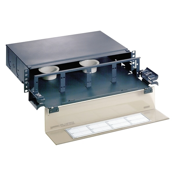 "Panduit 48/96-F RACK-MT ENCLOSURE, 19"" 2U - ADD 8 ADAPTER PANELS, ROHS FMD2"