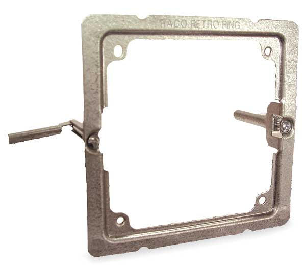 Raco Box Support, Retro Ring, 4 In, 1-Gang 205RAC