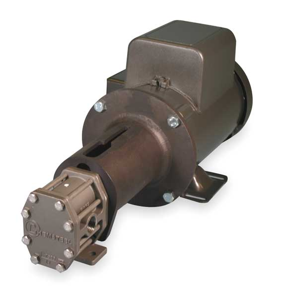 Chemsteel Rotary Gear Pump, 1 1/2 HP, 3 Phase S21416CAC1-T97