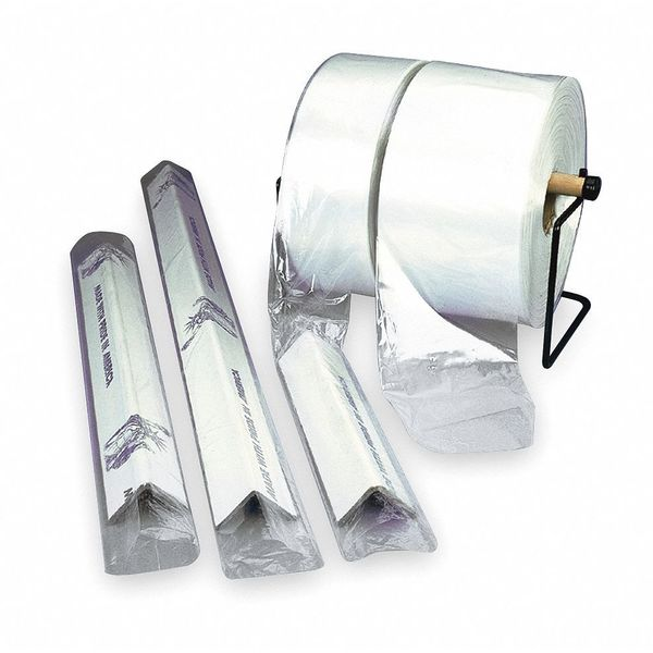 Zoro Select Poly Tubing,  3 mil,  Clear 5CPZ9