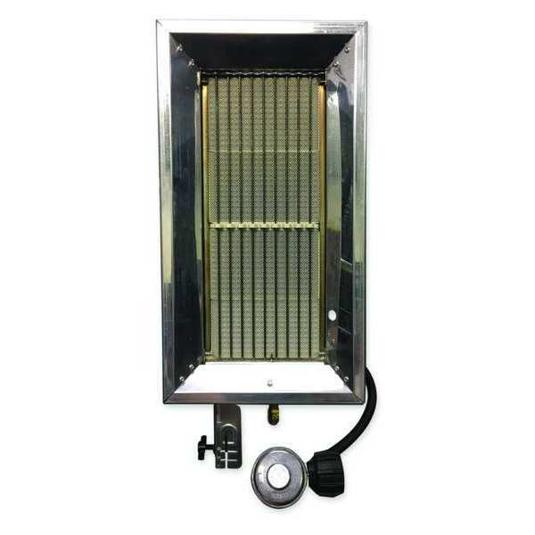 Re-Verber-Ray Tank Top Portable Gas Heater,  LP,  32,000 BtuH,  350 cfm,  10 1/6 in Wx P-32T