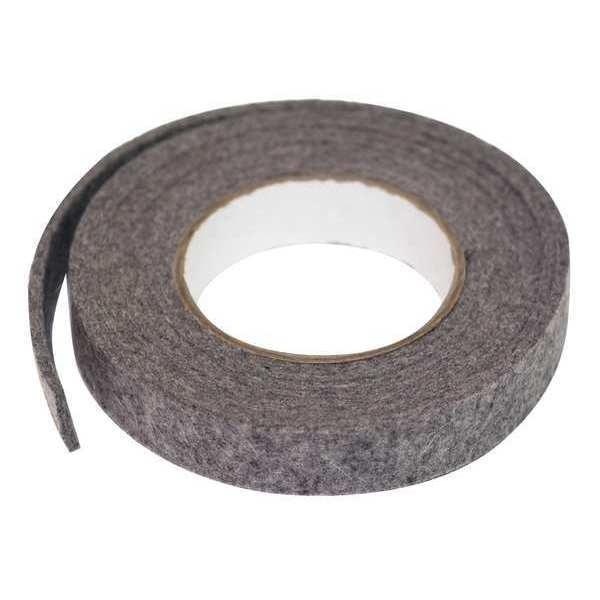 Zoro Select Felt Strip, F7, 1/8 In T, 1 x 120 In 2FHV1
