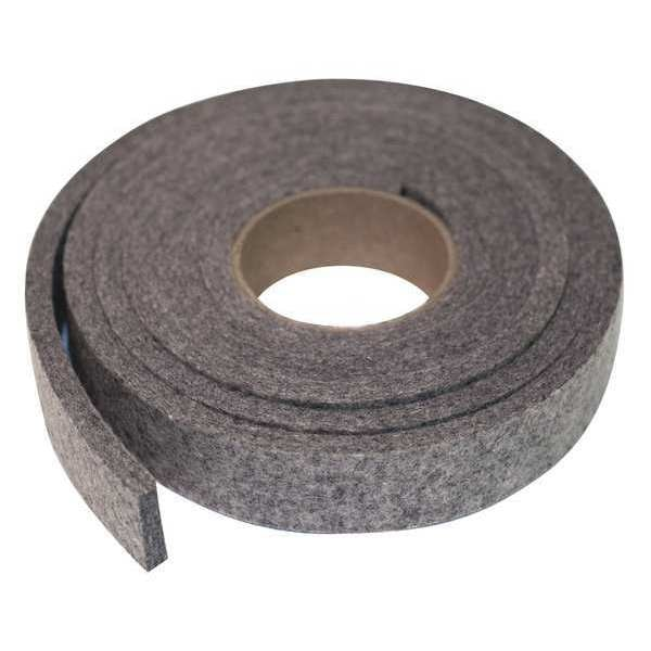 Zoro Select Felt, F3, 3/8 In Thick, 1 x 120 In 2FHT6