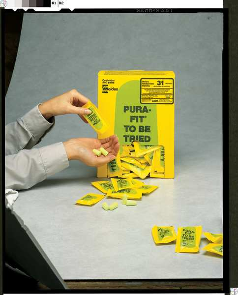PK 200 33dB Rated MOLDEX 6800 Pura-Fit® Uncorded Ear Plugs Tapered Shape