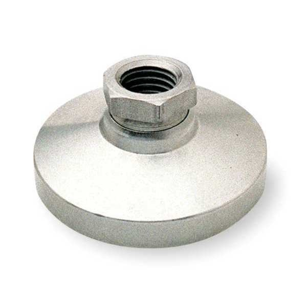 S & W Level Mount,  Boltless,  5/8-11,  2-1/2in Base,  Finish: Nickel TSW-3N