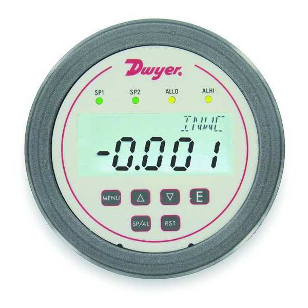 Dwyer Instruments Digital Panel Meter, Pressure DH3-002