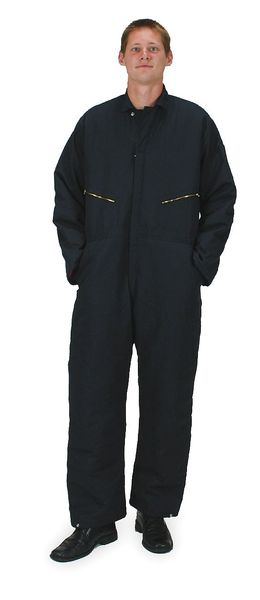 Condor Coverall, Chest 48In., Navy 2KTG6