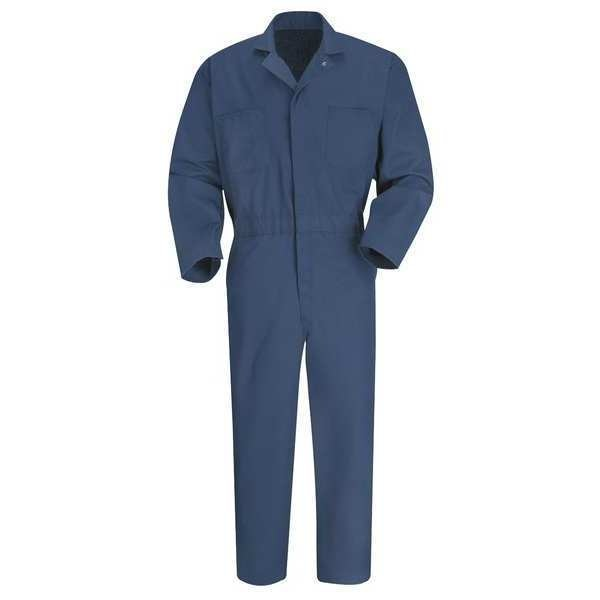 Vf Imagewear Coverall, Chest 40In., Navy CT10NV RG 40