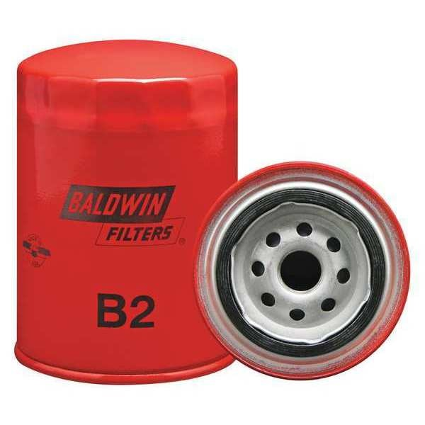 Baldwin Filters Oil Filter, Spin-On, Full-Flow B2