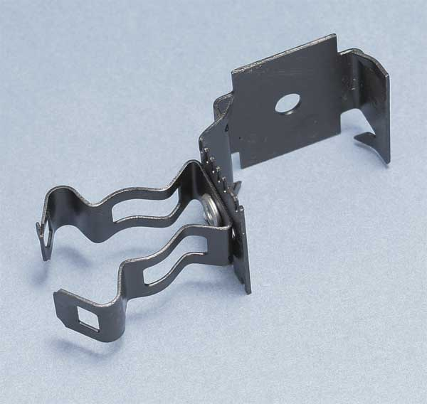 Nvent Caddy Conduit Clip, Spring Steel 812MF