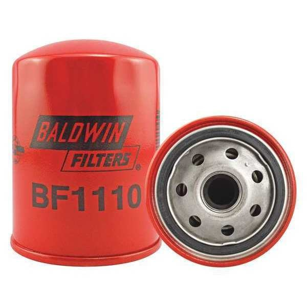 Baldwin Filters Fuel Filter, 4-3/32 x 3-1/32 x 4-3/32 In BF1110